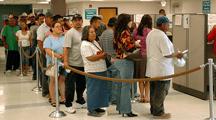 Unemployment line photo by Pa. Unemployment via Flickr