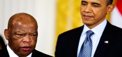 John Lewis, Barack Obama and the New March