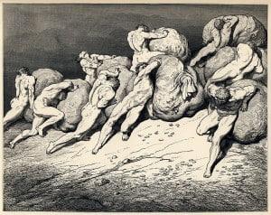 Gustave Doré - Dante Alighieri - Inferno - Plate 22