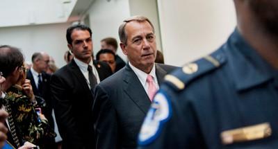Boehner Caves. Again.