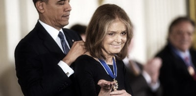 Gloria Steinem: A Liberator Gets The Medal of Freedom