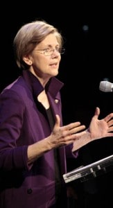 """Warren: """"Pick Up The Slingshot"""" Against Too Big To Fail"""