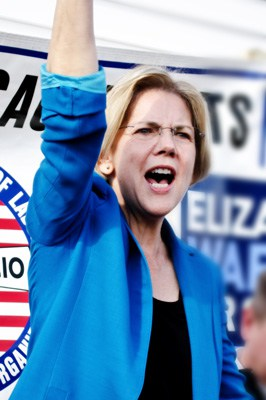 Warren: Leading the Democratic Wing of the Democratic Party
