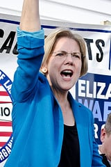 Elizabeth Warren by Tim Pierce @ Flickr.