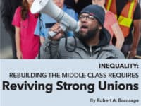 """Read the full report, """"Rebuilding the Middle Class Requires Reviving Strong Unions"""""""