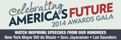 Watch speeches from the 2014 Awards Gala