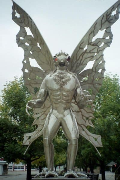 M&G Polymers is Point Pleasant's new Mothman.