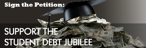 Sign the Petition: Student Debt Jubilee