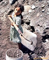 Photo of child working in Guatemala by Antonio Rosa, courtesy of CCOO's No Es Un Joc on Flickr.