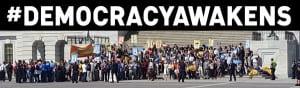 #democracyawakens