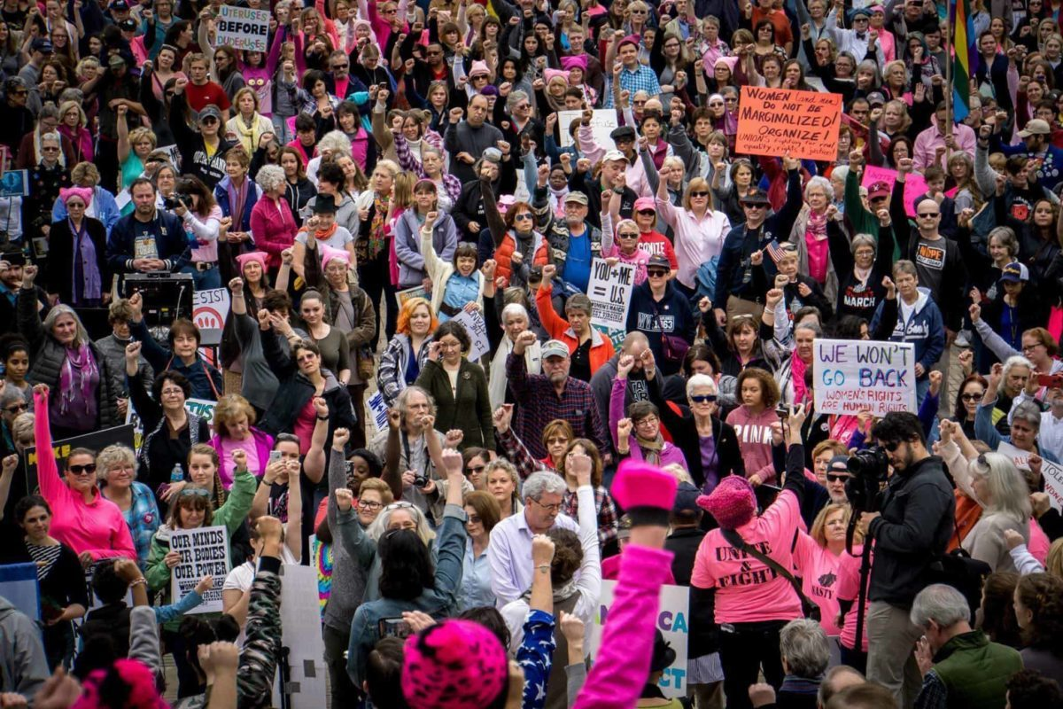 The Most Dangerous Time For Women's Rights In Decades