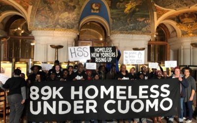 Cuomo to New York's Homeless: Drop Dead