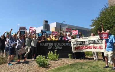 Iowans Won't Be Fooled: We Need  #MedicareForAll Now