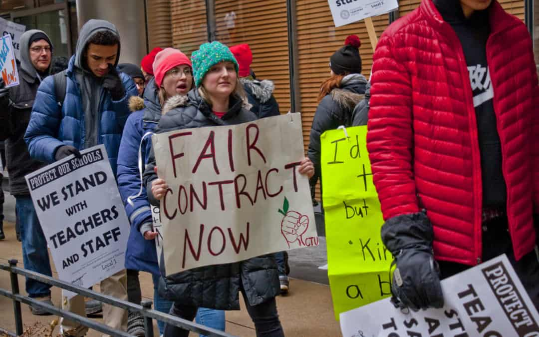 Striking Teachers Are Fighting For Much More Than Paychecks