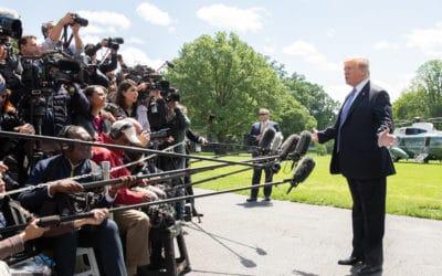 How Social Media Amplifies Trump's Rants And Disinformation