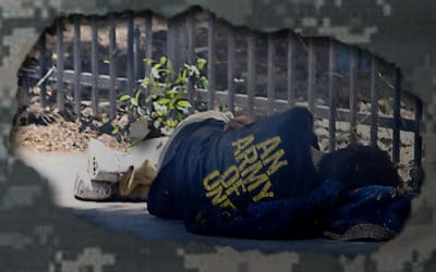 Homeless Vets Confront A New Enemy: COVID-19