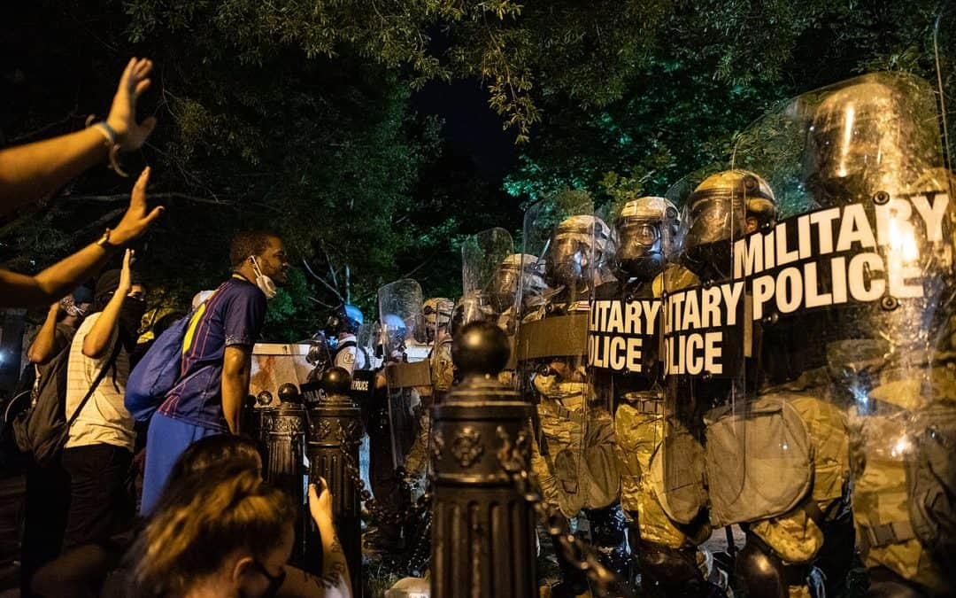 Protesters for Black Lives Are America's True Patriots