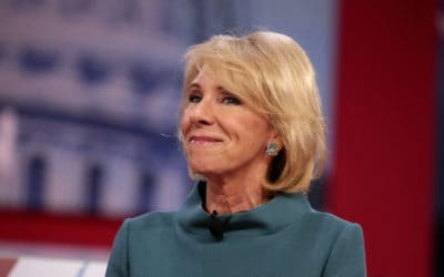 Education Secretary DeVos Is Using COVID To Get What She Wants